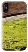 Abstract With Green IPhone Case