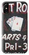 Ace's Hot Rod Shop IPhone Case