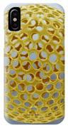 Acrosphaera Radiolarian, Sem IPhone Case