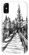 Across The Bridge IPhone Case
