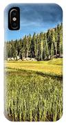 Across The Meadow IPhone Case