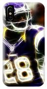 Adrian Peterson 02 - Football - Fantasy IPhone Case