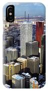 Aerial View From Cn Tower Toronto Ontario Canada IPhone Case
