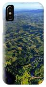 Aerial View Of The Nadi River Winding IPhone Case