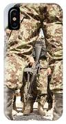 Afghan Air Force Members Get Briefed IPhone Case