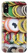 African Beaded Earrings IPhone Case