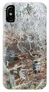 After The Ice Storm In Maine IPhone Case