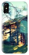 Afternoon Light On Barn IPhone Case
