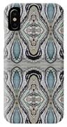 Agate-38e Border Tiled IPhone Case