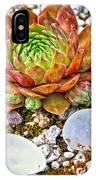 Agates And Cactus IPhone Case