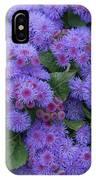 Ageratum Ageratum Sp Ariella Power IPhone Case