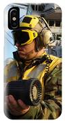Airman Receives Proper Fire Fighting IPhone Case
