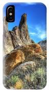 Alabama Hills Granite Fingers IPhone Case