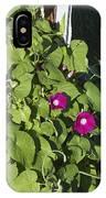 Alabama Wild Pink Morning Glories IPhone Case