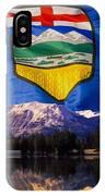 Albertas Rocky Mountains IPhone Case