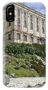 Alcatraz Cell House West Facade IPhone Case