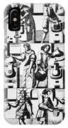 Alchemy Preparations, 17th Century IPhone Case