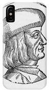 Aldus Manutius, Italian Printer IPhone Case