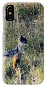Alert Jackal IPhone Case