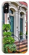 Alexandria Row Houses IPhone Case