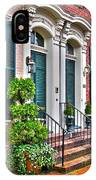 Alexandria Row Houses IPhone Case