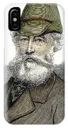 Alfred Krupp (1812-1887) IPhone Case