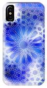 Alhambra Pattern Blue IPhone Case