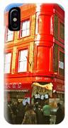 Alice's - London IPhone Case
