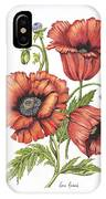 All About Poppies IPhone Case