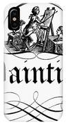 Allegory Of Finance, 1743 IPhone Case