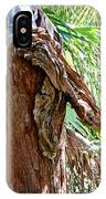 Alligator Cypress Knot IPhone Case