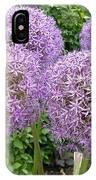 Allium Flower (allium Sp.) IPhone Case