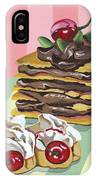 Almond Cake IPhone Case