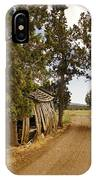 Almost A Pile Of Wood Barn Vertical IPhone Case