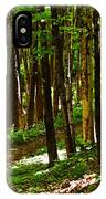 Along The Hiking Trail IPhone Case