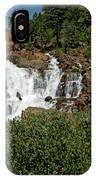Alpine Falls Lake Tahoe II IPhone Case