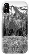 Alpine Meadow Viii At Mount Rainier IPhone Case