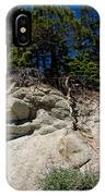 Alpine Pine Hangs On For Life IPhone Case