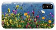 Alpine Wildflowers IPhone Case