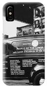 Ambulance, Late 1930s, Nyc IPhone Case