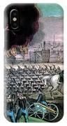 American Civil War, Capture Of Atlanta IPhone Case
