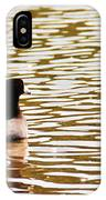 American Coot Floating By IPhone Case