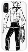 American Cowboy IPhone Case
