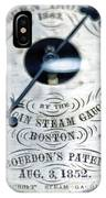 American Steam Gauge IPhone Case