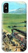 American Transcontinental Railroad IPhone Case