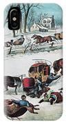 American Winter 1870 IPhone Case