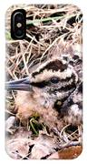 American Woodcock Chick No. 2 IPhone Case