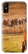 Amish Transportatin All Sizes IPhone Case