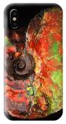 Ammonite Fossil IPhone Case