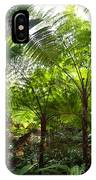 Among The Tree Ferns IPhone Case